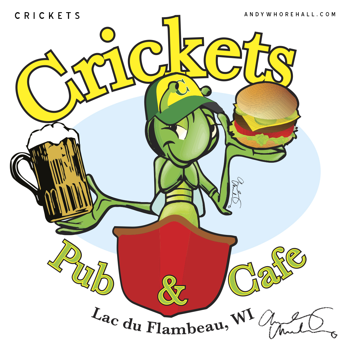 Crickets_Pub-Logo-Mock_Andy-Whorehall