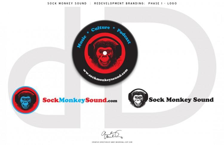 Sock Monkey Sound - Branding: Logo Redevelopment